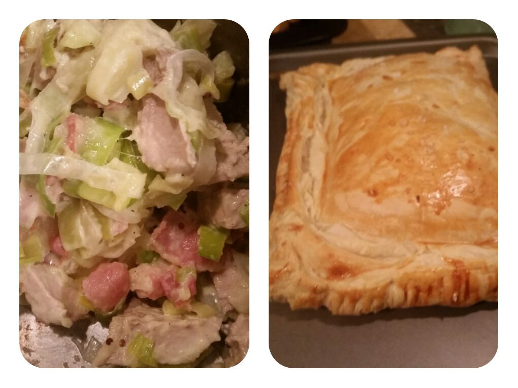 Pork, Apple and Leek Pie