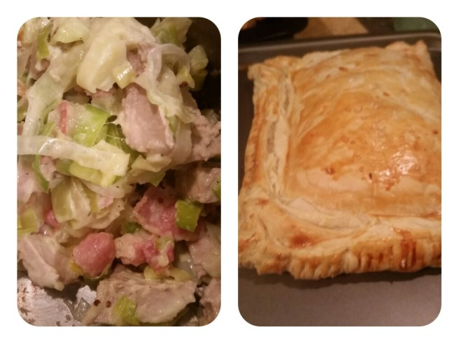 Pork, Apple and Leek Pie