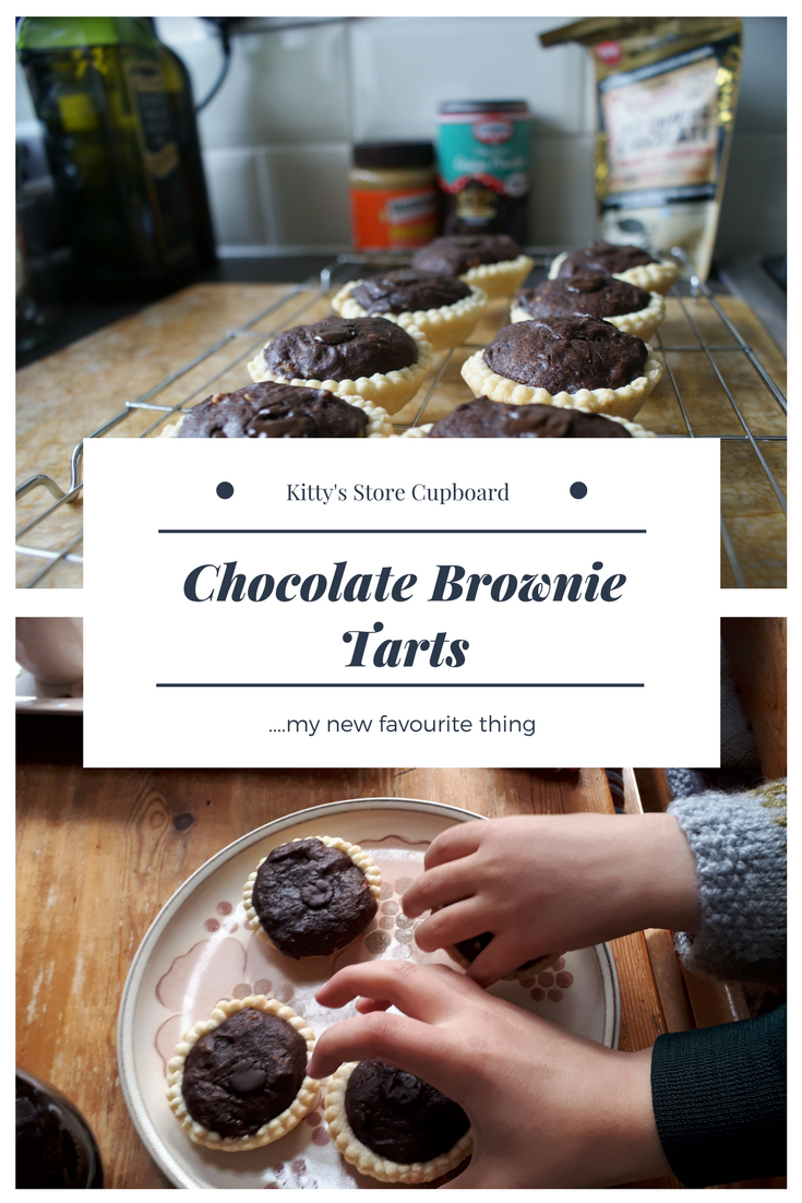 Chocolate Brownie tarts