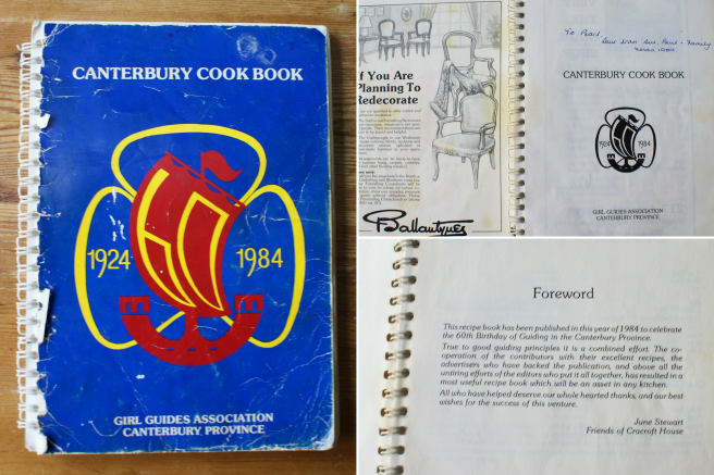 girl guides cook book