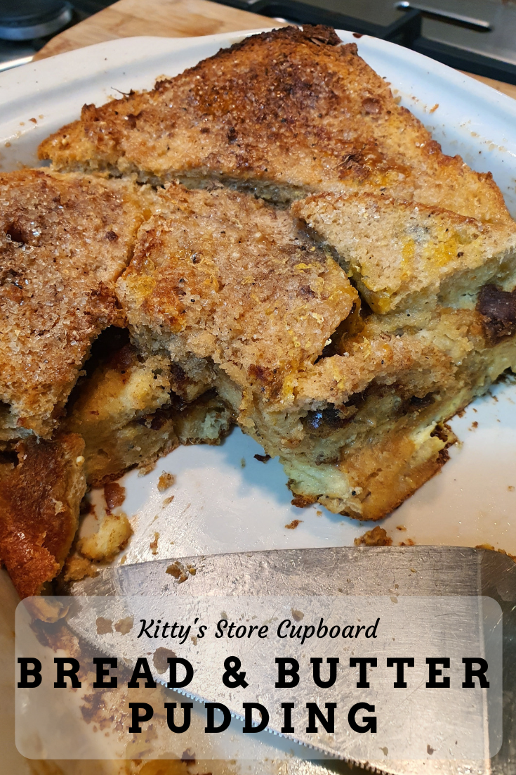Date Bread and Butter Pudding